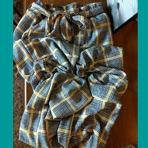 NWT Plaid Business Pants